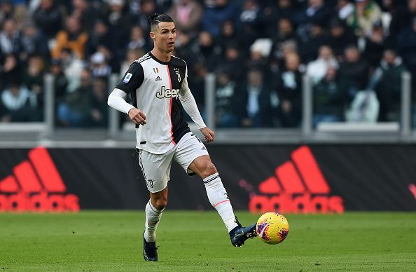 Cristiano Ronaldo was the standout player in Juventus