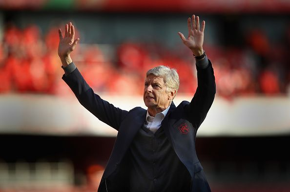 Arsene Wenger oversaw most of the decade in charge of Arsenal