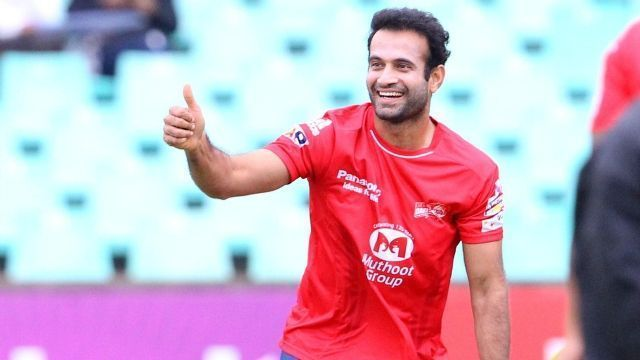 Irfan Pathan played for Kings XI Punjab till 2010