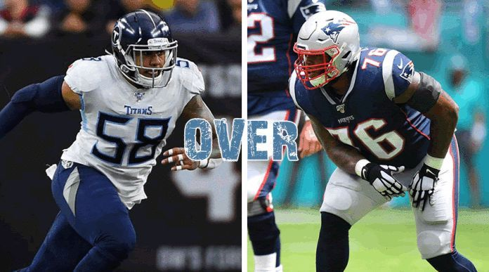 Harold Landry's pass-rushing over New England Patriots offensive tackles