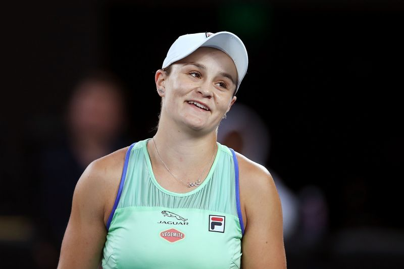 Ashleigh Barty has been vocal about her ambition of going all the way this year.