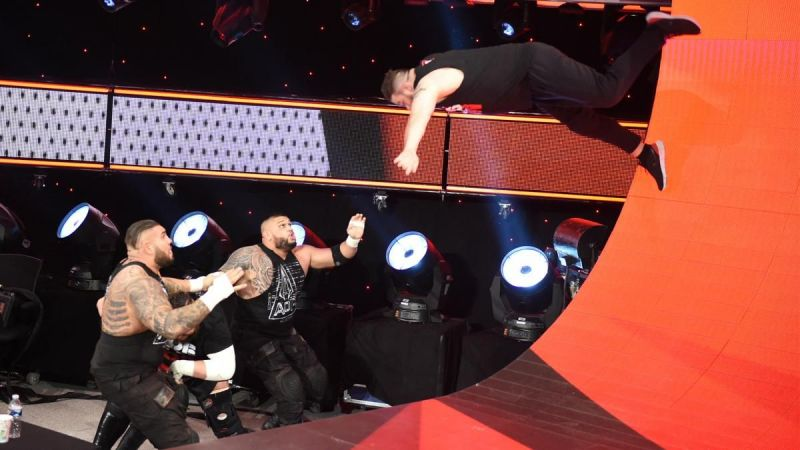 Kevin Owens taking to the skies to take down AOP