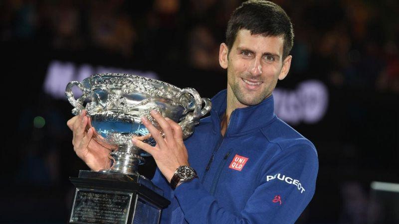 Novak Djokovic won the 2019 Australian Open