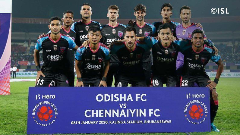 Odisha scripted a comfortable victory
