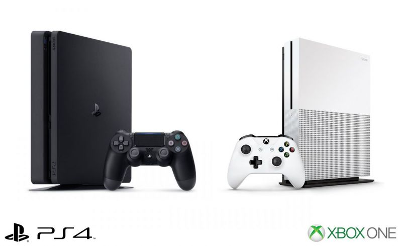 Image result for xbox one s ps4 slim