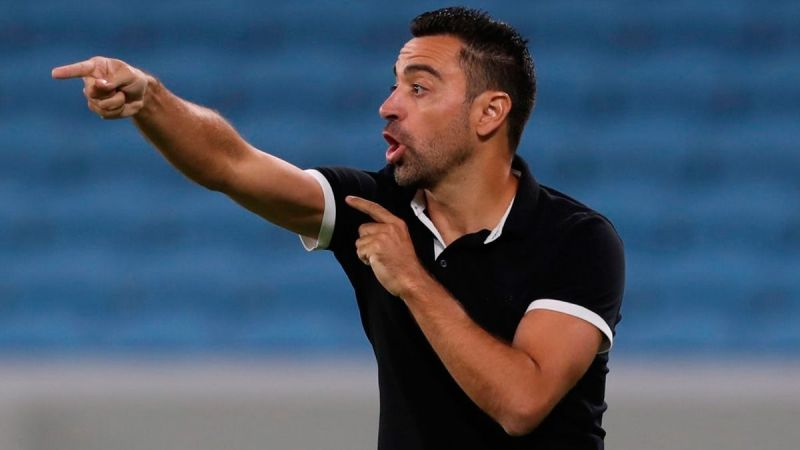 Xavi managing Qatari club Al-Sadd