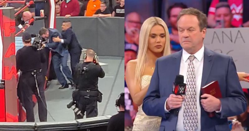 Rick Malone - the actor who got tackled on RAW.