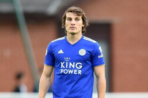 Caglar Soyuncu has replaced Harry Maguire at the heart of Leicester City