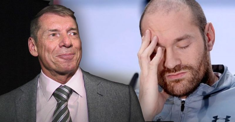 Vince McMahon and Tyson Fury