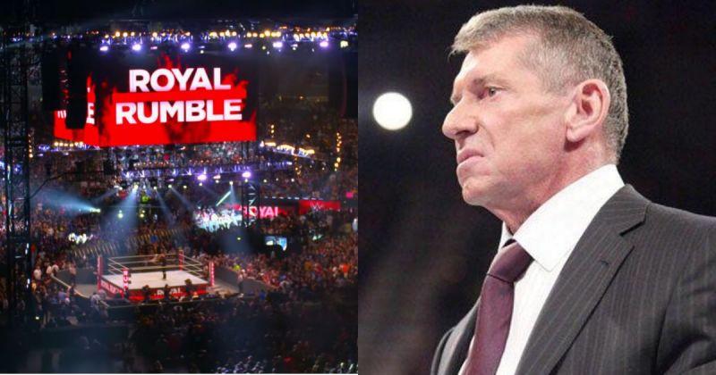 Royal Rumble/ Vince McMahon.