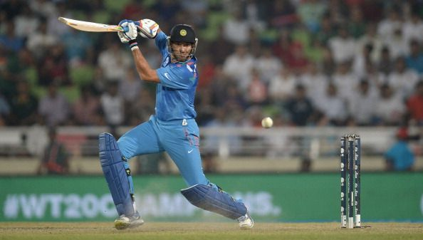 Yuvraj Singh 60*(25) was in peak form