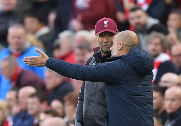 Klopp and Manchester City boss Pep Guardiola have a rivalry built on mutual respect