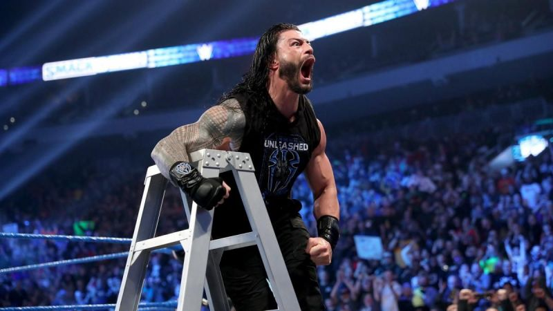 Would Reigns get to humiliate King Corbin this week?