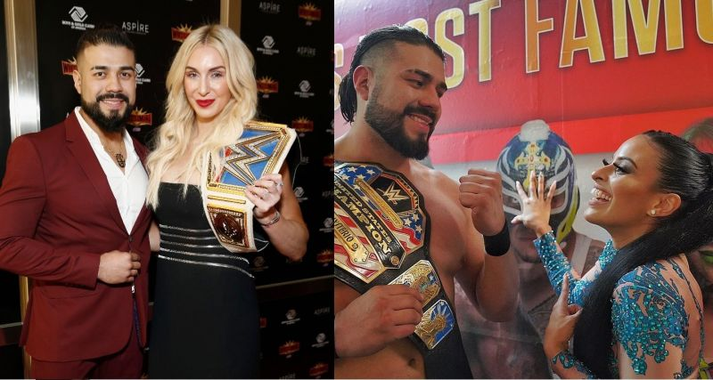 Andrade, Flair, and Vega