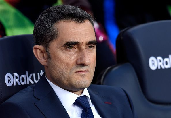 Unlike Setien, the fired Ernesto Valverde had won plenty of trophies as a manager prior to arriving at the Nou Camp