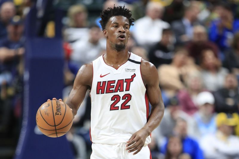 Jimmy Butler and the Miami Heat have been among the most surprising teams so far this season