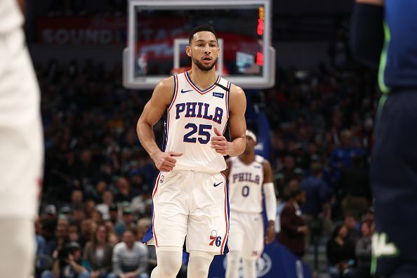 Ben Simmons and the Philadelphia 76ers take on the Indiana Pacers