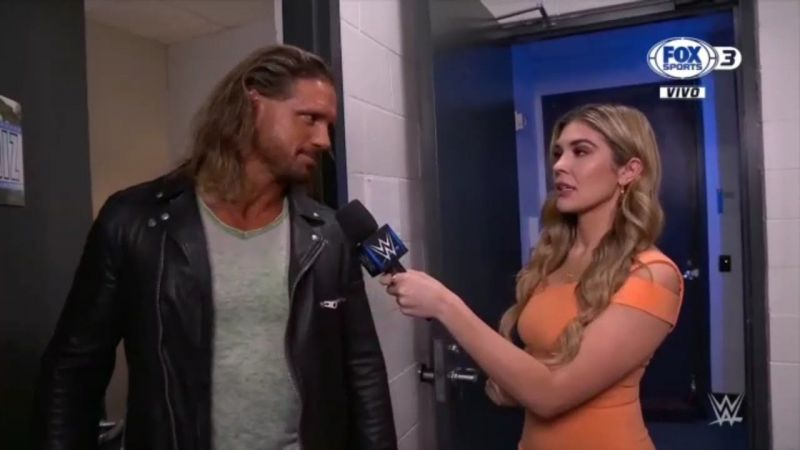 John Morrison on SmackDown last week