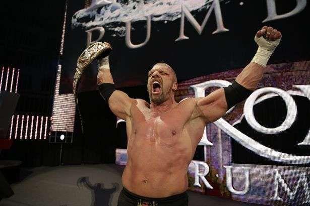 Triple H had won the 2016 Royal Rumble match