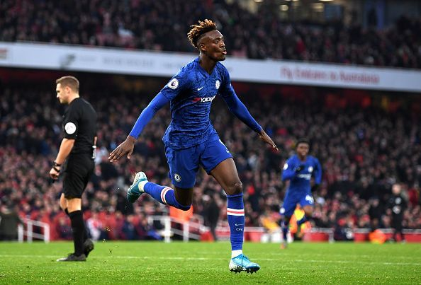 Tammy Abraham scored the winner against Arsenal less than a month ago