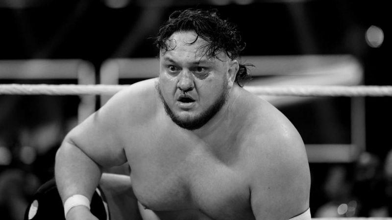WWE superstar Samoa Joe