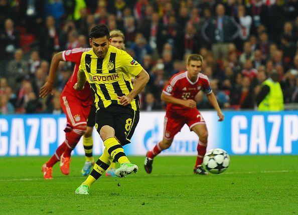 Ilkay Gundogan scored Dortmund