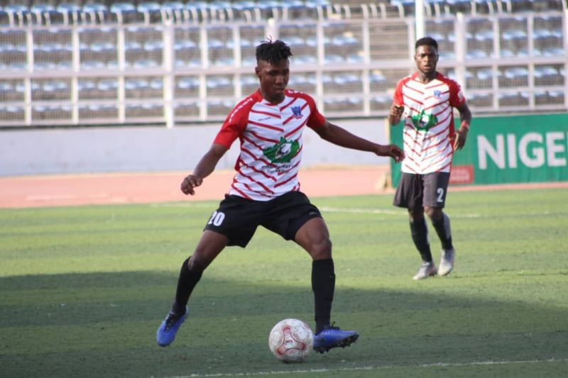 Lobi Stars striker Tamara Ezekiel scored the winning goal against Adamawa United
