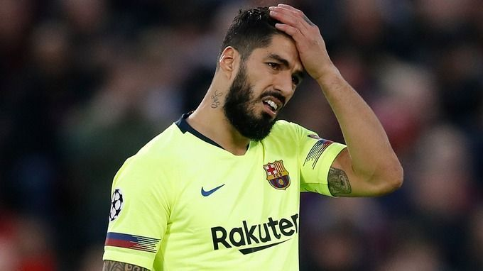 Luis Suarez has been ruled out for four months due to a knee surgery