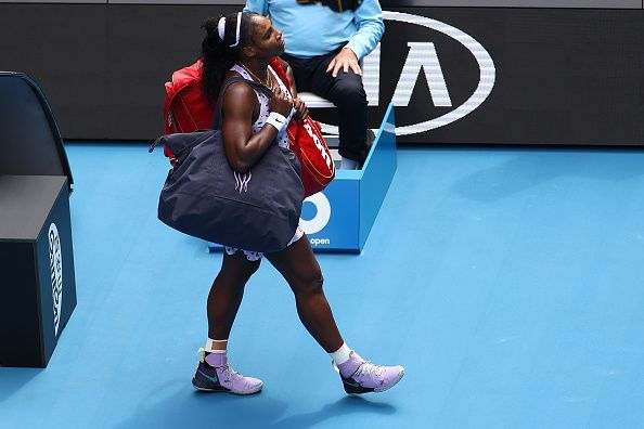 Serena Williams crashed out of the Australian Open 2020