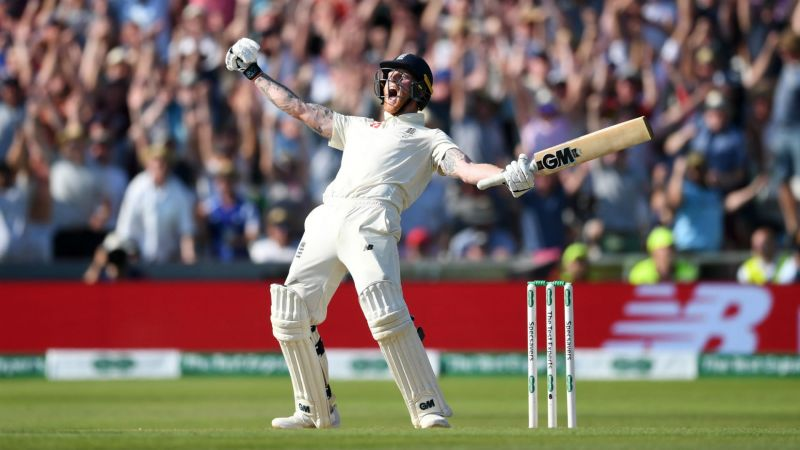 Ben Stokes roars in jubilation at Headingley