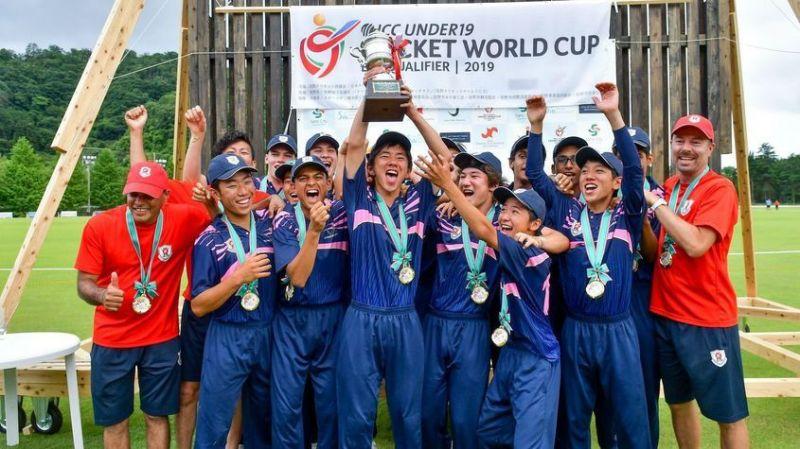 The Japan U19 cricket team
