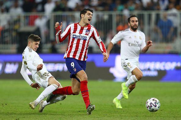 Valverde tackles Morata
