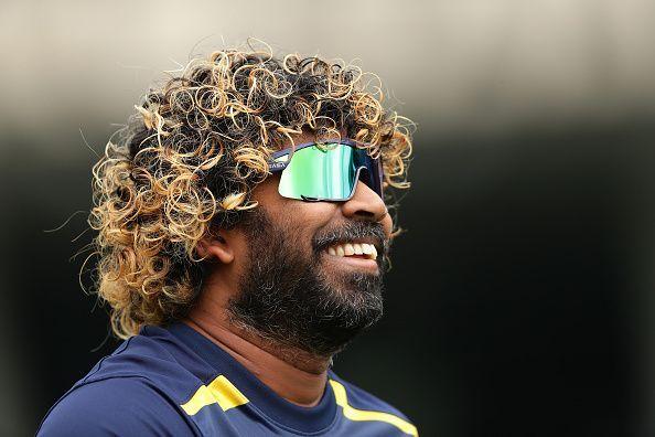 Sri Lanka captain Lasith Malinga.