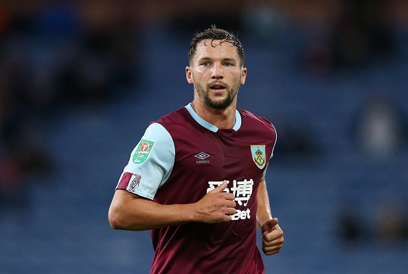 Danny Drinkwater has featured just twice for Burnley since joining in summer
