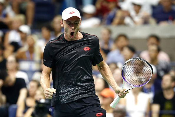 John Millman upset Federer in the 4th round at US Open in 2018