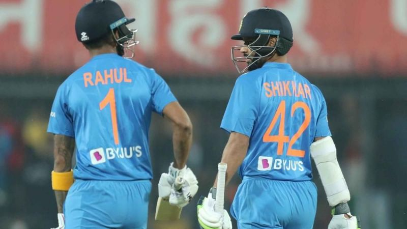 KL Rahul and Shikhar Dhawan