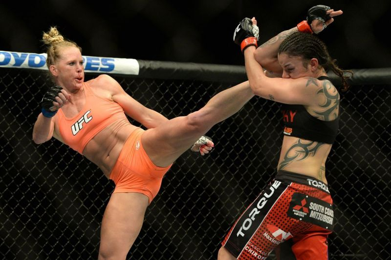 Holly Holm first clashed with Raquel Pennington in 2015