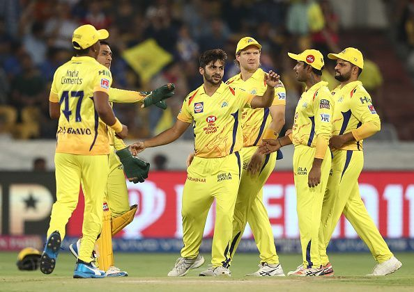 Shardul Thakur now plays for CSK in the IPL
