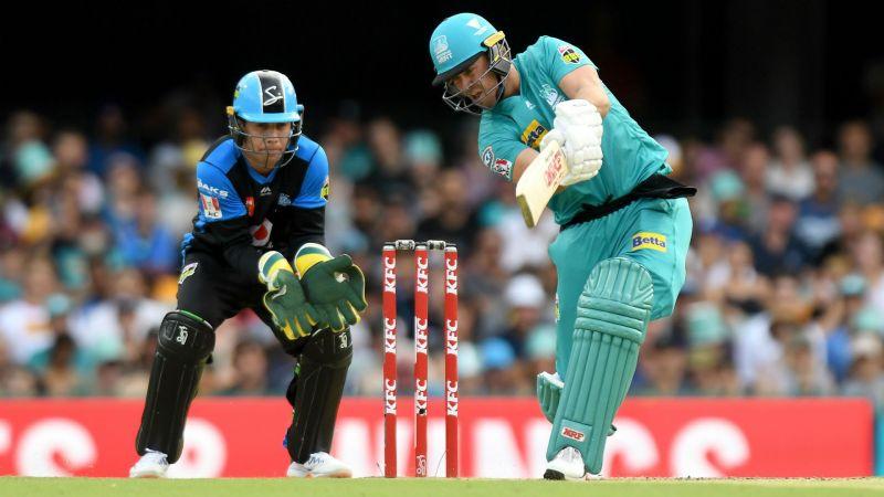AB de Villiers batting in his Big Bash debut
