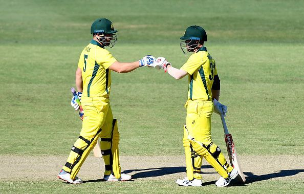 Australia on the back of Finch and Warner