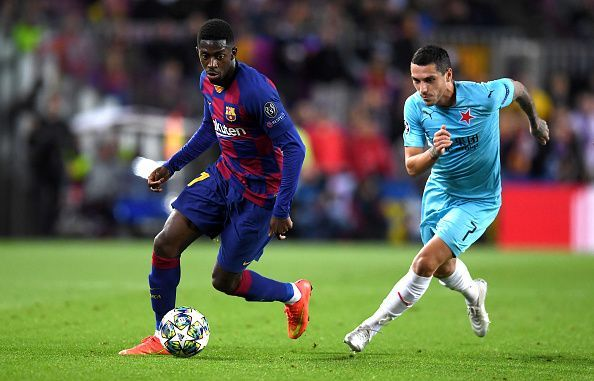 Barcelona are reportedly running out of patience with Ousmane Dembele