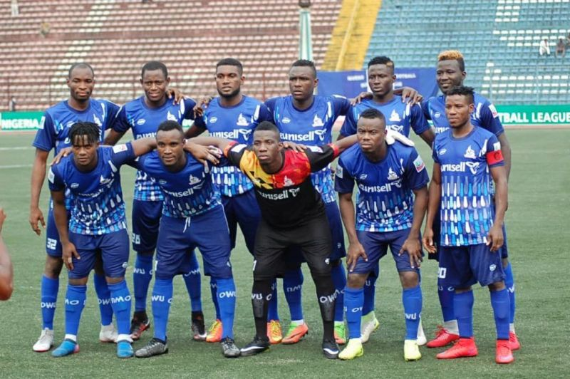 Rivers United team