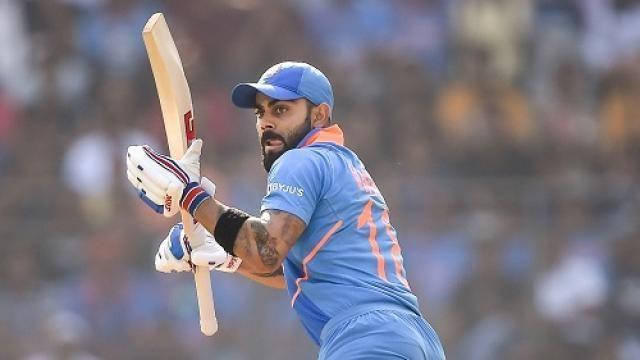 Virat Kohli had a rare failure with the bat in the match.