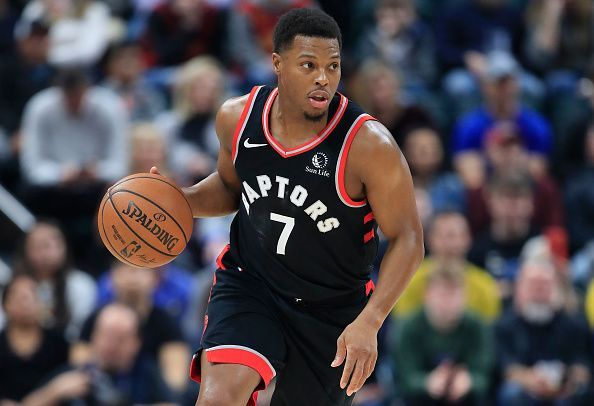 Kyle Lowry and the Toronto Raptors travel to Brooklyn to face the Nets