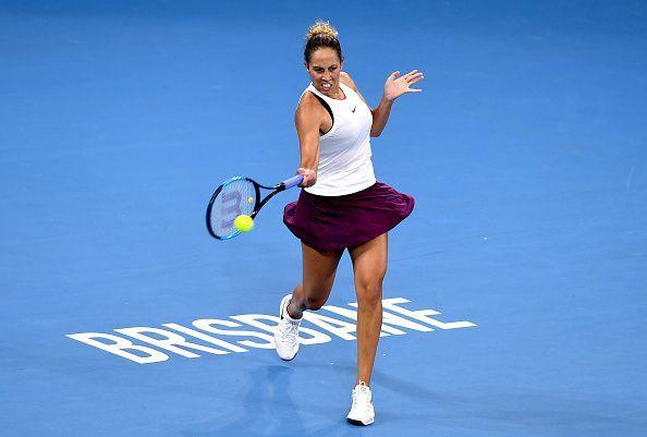 Madison Keys has had big results in Australia already this year