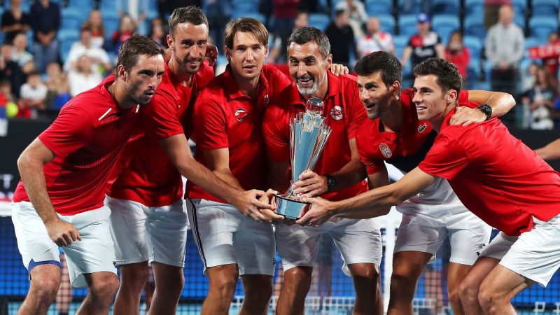 Serbia lift the inaugural ATP Cup in 2020 with a victory over Spain in the final