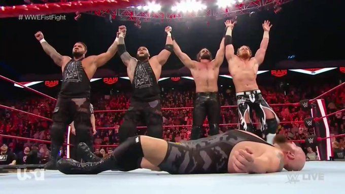 Raw में हुआ जबरदस्त मेन इवेंट मैच