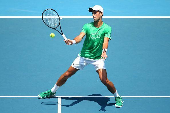Australian Open 2020 Novak Djokovic Vs Jan Lennard Struff