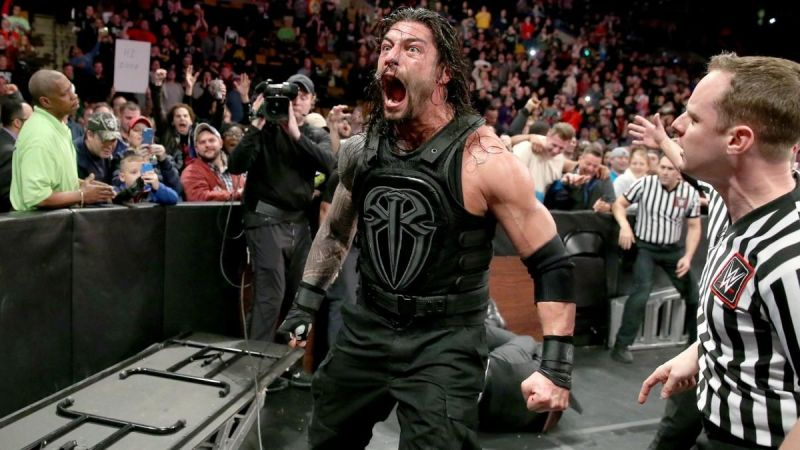 Roman Reigns performed as a heel in The Shield