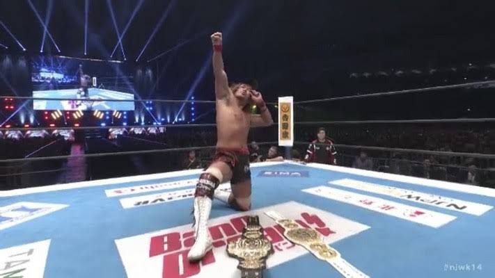 Naito Two Belts is a dream not many fans want to wake up from, including me